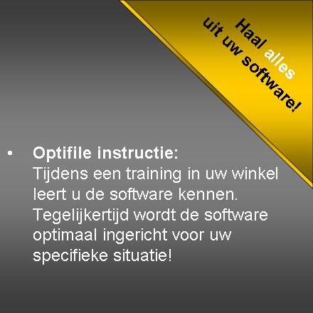 Optifile Instructie